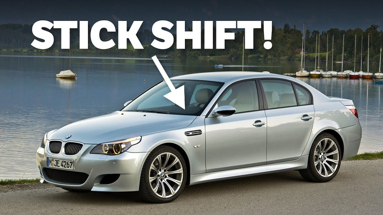 8 Cars That Surprised Us With A Manual Gearbox Option