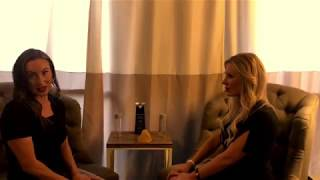 Jennifer Zemp with the Pretty Skinny Show interview Kate at Secret Body Las Vegas