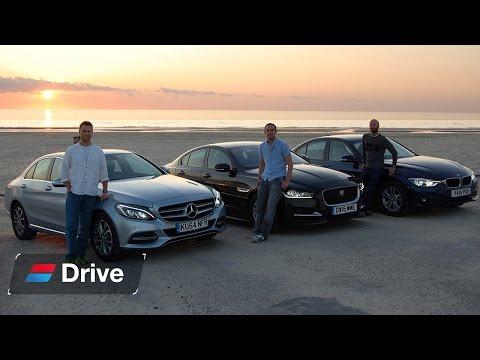 BMW 3 Series vs Jaguar XE vs Mercedes C-Class group test