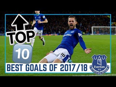 TOP 10: BEST EVERTON GOALS 2017/18
