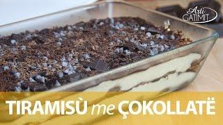 Repeat youtube video Tiramisu me çokollate - Embelsira nga ArtiGatimit.com