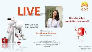 Gravação da Live com Dra Ximene Antunes e Dra Adriana Fadel - ABA
