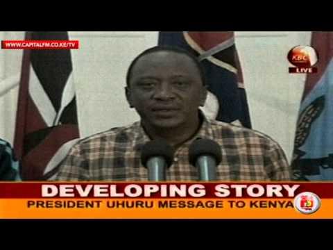 My relatives among 39 killed in mall siege -- Uhuru (FULL)