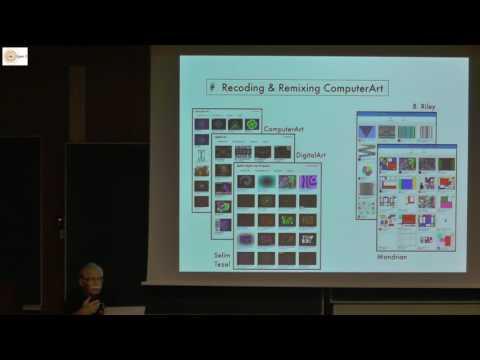 Recoding & Remixing Computerart Joachim Wedekind #scratch2017bdx