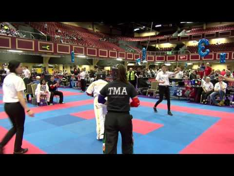 Keila Mejia v Carradh O'Donovan Irish Open 2017