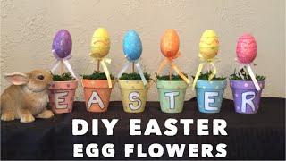 Diy Easter Egg Flower Garden