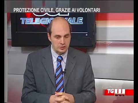Ospite Tg Tremedia Massimo Minutoli   Pres.  Consulta  di Volontariato Prot Civ Messina