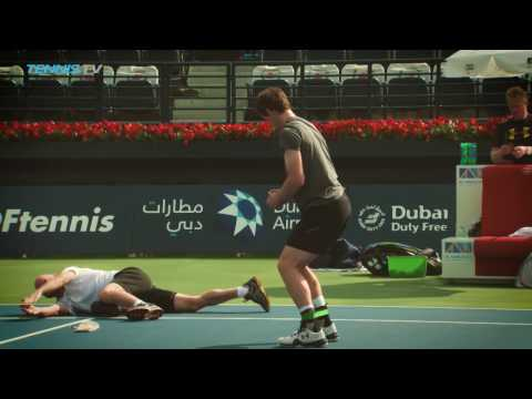 Federer and Monfils Off The Mark At Dubai 2017