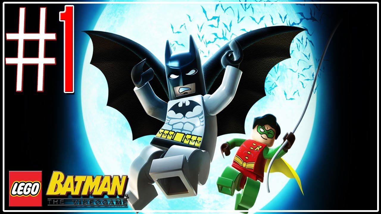 LEGO Batman The VideoGame Efrentando Clayface Part.1 ...
