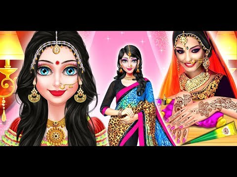 Indian Super Stylist Salon - Indian Wedding | Makeover Salon Game | Girls Game