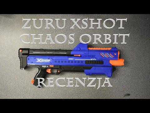 Zuru X-shot Chaos Orbit   Recenzja