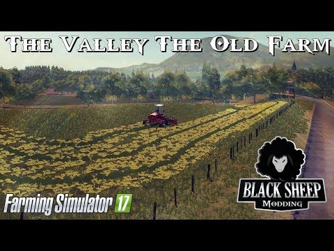 FS17 The Valley The Old Farm (Yellow graas-cut and fields configurations)
