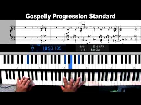 Learn Gospel Progressions And Chords Walk With Me Lord Remix