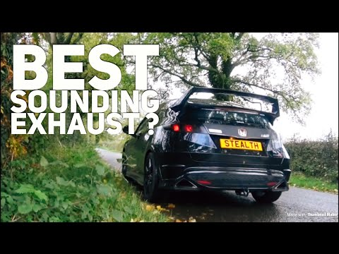COBRA Sports Exhaust Review & sound check ( resonated ) // Honda Civic Type R FN2