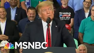 Donald Trump: I'm Unsure If Abe Lincoln Was Polled, But I'm Beating Him   The 11th Hour   MSNBC