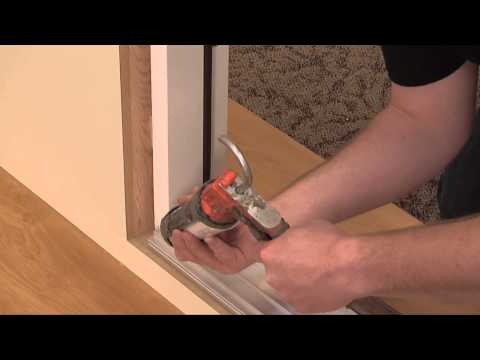 How to Adjust the Threshold to an Exterior Door