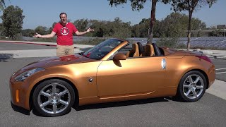 homepage tile video photo for The Nissan 350Z Was a Great 2000s Sports Car