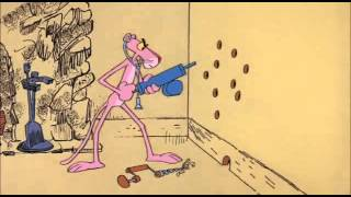 La panthère rose EP  057 Pink Pest Control