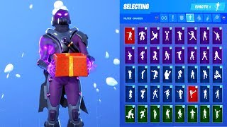 TEMPEST SKIN SHOWCASE WITH ALL FORTNITE DANCES & EMOTES