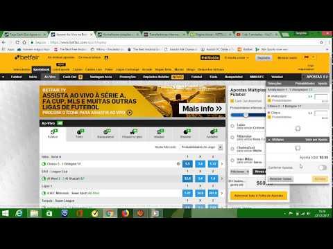 Como ganhar dinheiro na Betfair usando Intercâmbio ou Sportsbook