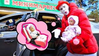 Игры для детей - Кукла Беби Бон едет в магазин за вкусняшками! – Новые видео с игрушками.