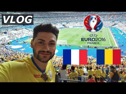 FRANCE - ROMANIA 2-1 EURO 2016 OPENING MATCH - GOALS + FANTASTIC ATMOSPHERE / VLOG