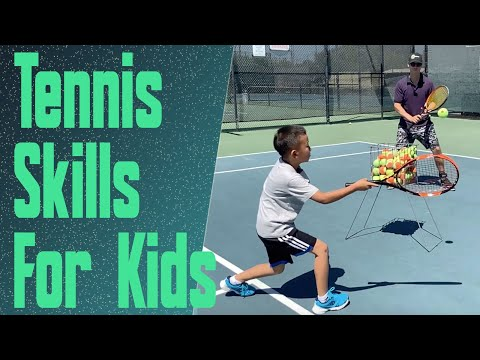 Teaching Children The Game Of Tennis