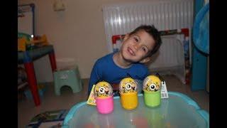 Minyonlar yumurta açtık