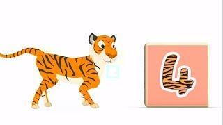 Би-Би Знайки – Цифра 4 - мультфильм про машинки – учим алфавит