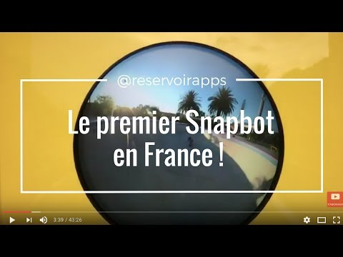 Le premier Snapbot en France ! [LIVE🔴 ] @ReservoirApps #TECH #ACTU #LIVE #STREAMING #Appli #Direct