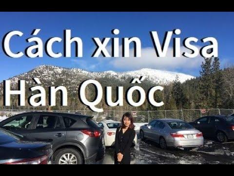 Visa Hàn Quốc – Hướng dẫn điền chi tiết (bằng tiếng Anh)