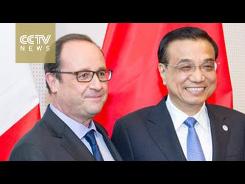 Li, Hollande seek to enhance Sino-French cooperation