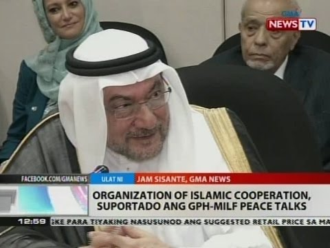 BT: Organization of Islamic Cooperation, suportado ang GPH-MILF Peace Talks
