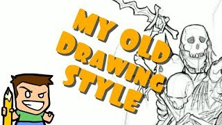 My Drawing Style Before YouTube & CarBot