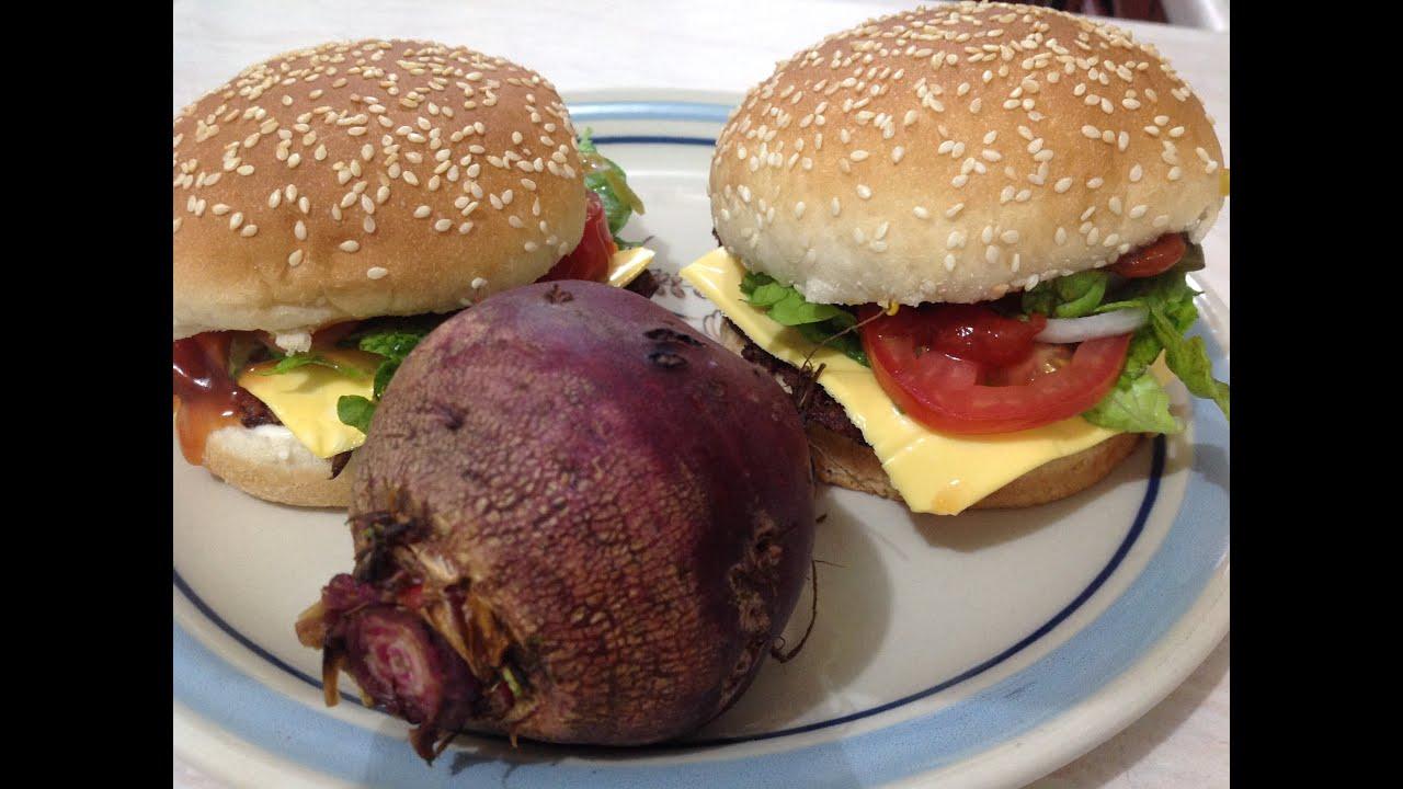 Hamburguesas vegetarianas de betabel muy nutritivas beet - Comidas vegetarianas ricas ...