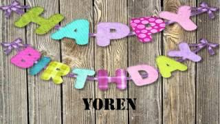 Yoren   wishes Mensajes