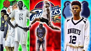 NBA Rookies When They Played In High School
