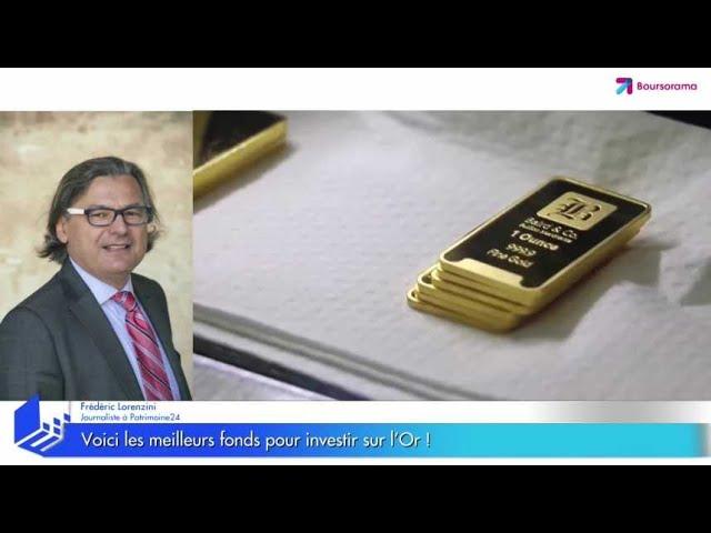 Voici les meilleurs fonds pour investir sur l'or !