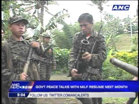 Gov't confident final MILF peace deal signed before 2016