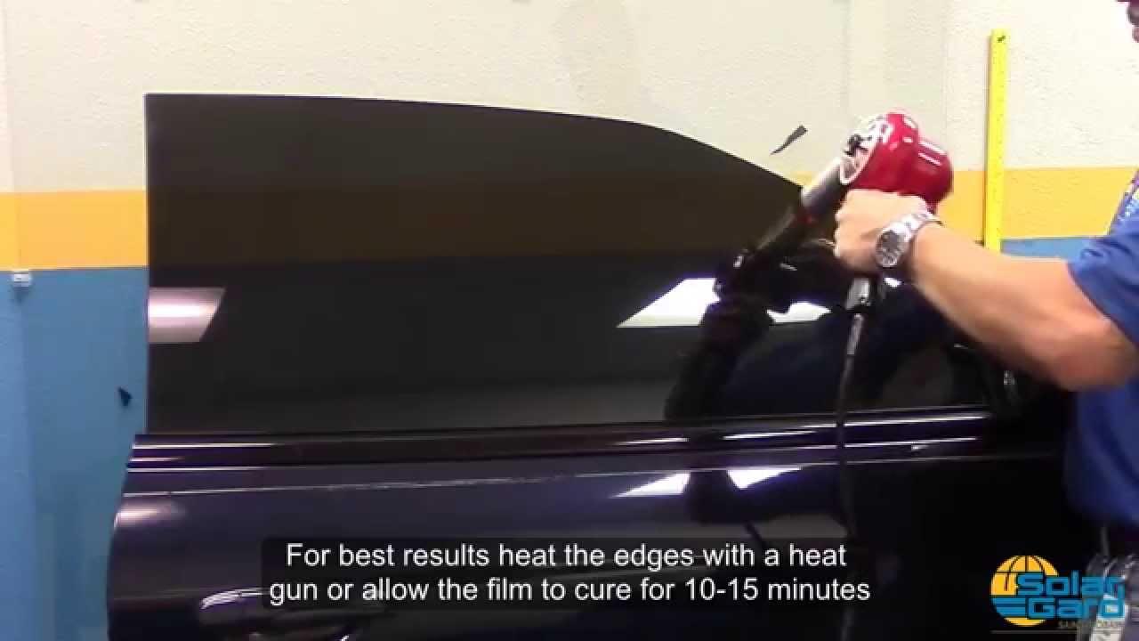 Solar Gard Tint >> Tinting Car Door Micro Edges With Solar Gard