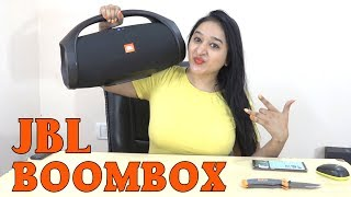JBL BOOMBOX - Unboxing &amp Overview(INDIAN RETAIL UNIT)