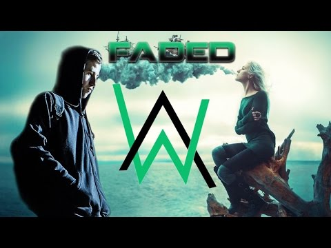 DJ ALAN WALKER - FADED SUPER BASS GILAAAAAA - BREAKBEAT REMIX 2017