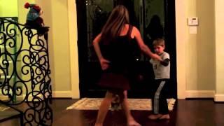 Dancin with mom