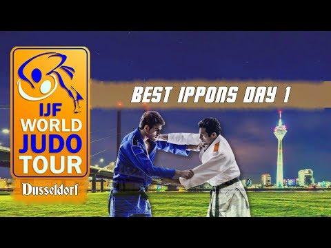 Best ippons in day 1 of Judo Grand Slam Dusseldorf 2018