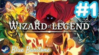 WIZARD OF LEGEND , EFSANE BÜYÜCÜ , Türkçe , Bölüm 1 , Eğlenceli Oyun Videosu