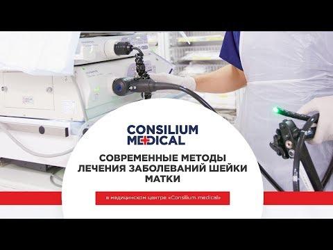 Современные методы лечения заболеваний шейки матки в медицинском центре Consilium Medical
