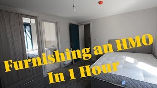 How to Furnish a HMO in One Hour!