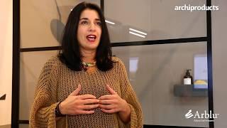 CERSAIE 2019 | ARBLU - Angela Falotico presenta 5.Zero ed il box doccia Kore
