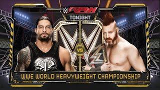 Roman vs Sheamus, World Heavyweight Championship Match: Raw, November 30, 2015