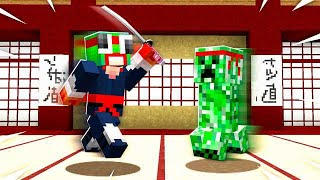 JOINING A NINJA ACADEMY IN MINECRAFT!